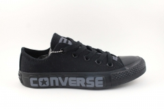 Converse Chuck Taylor All Star Low Top Mono Black 2