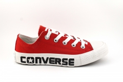 Converse Chuck Taylor All Star Low Top Red/White 2