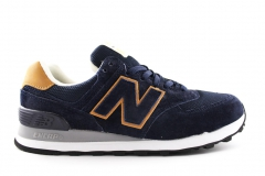 New Balance 574 Navy/Brown