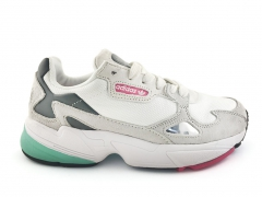 Adidas Falcon White/Grey/Mint/Pink