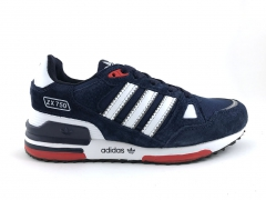 Adidas ZX 750 Navy Suede/Red/White