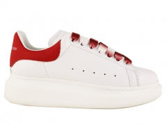 Alexander McQueen Sneaker White/Red/Ombre Laces