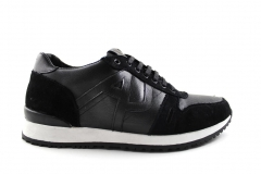 Armani Jeans Sneakers Black/White
