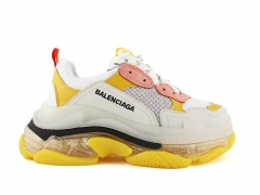 Balenciaga Triple S Clear Sole Cream/Yellow
