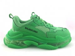 Balenciaga Triple S Clear Sole Neon Green