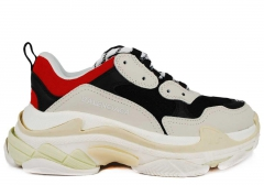 Balenciaga Triple S White/Black/Red