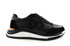 Dolce & Gabbana Sneaker Black/Yellow/Blue