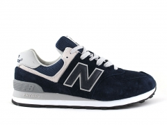 New Balance 574 Navy/Grey/Suede