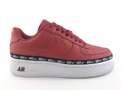 Nike Air Force 1 Low '07 SE Premium Red/Black