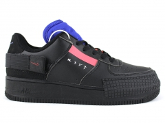 Nike Air Force 1 Low Type Black/Red/Blue