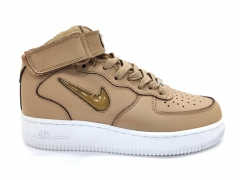 Nike Air Force 1 Mid Jelly Beige