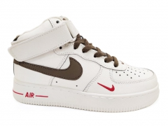 Nike Air Force 1 '07 Mid White/Brown