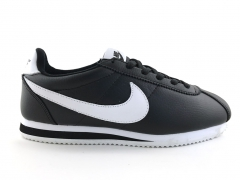 Nike Cortez Black/White Leather