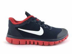 Nike Free Run 3.0 V2 Navy/Red