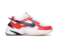 Nike M2K Tekno x Off-White Red/White
