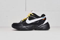 Nike M2K Tekno x Off-White Black/White