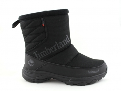 Дутики Timberland Waterproof Black (с мехом)
