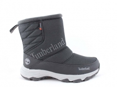 Дутики Timberland Waterproof Grey (с мехом)
