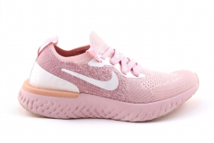 Nike Epic React Flyknit Pink/White