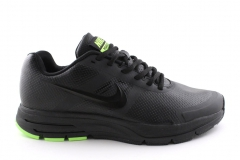 Nike Air Pegasus 30 Black/Green Leather