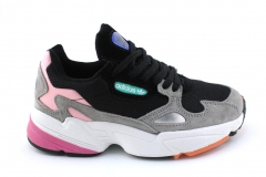 Adidas Falcon Black/Light Granite