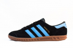 Adidas Hamburg Black/Blue/Gum