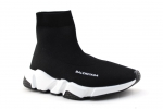 Balenciaga Speed Runner Sock Black/White