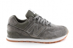 New Balance 574 Grey/Khaki Suede