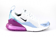 Nike Air Max 270 White/Purple/Blue