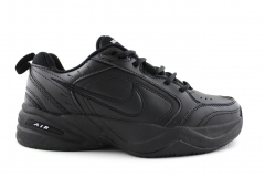 Nike Air Monarch All Black Leather