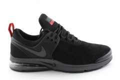 Nike Air Presto Black/Red Suede