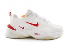 Nike M2K Tekno x Off-White White/Red