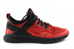 Puma Ignite evoKNIT Lo Red/Black