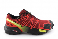 Salomon Speedcross 4 Red/Black/Yellow