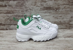 Fila Disruptor 2 Leather White/Green