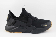 Nike Air Huarache City Low Black/Gold