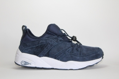 Puma Trinomic Blaze Of Glory Soft Navy Suede