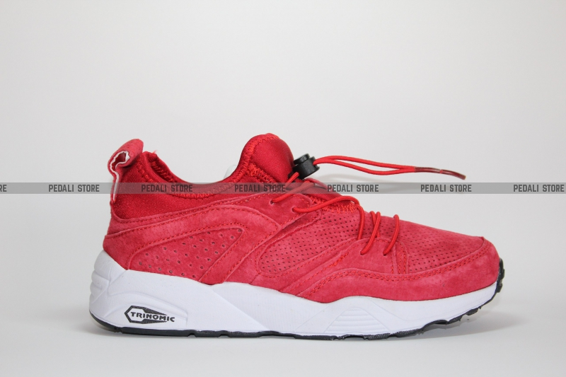 Кроссовки Puma Trinomic Blaze Of Glory Soft Red Suede купить в ... 59fb656a91a