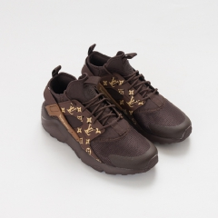 Nike Air Huarache Ultra x Supreme x LV Brown