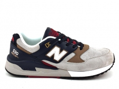 New Balance 530 Suede Grey/Blue NB19