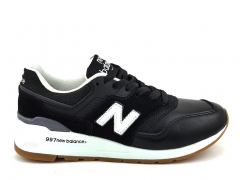 New Balance 997 Leather Black/White NB19