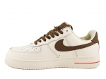 Nike Air Force 1 '07 White Brown