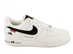 Nike Air Force 1 x Supreme The North Face White N19