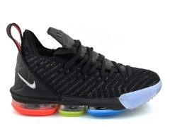 Nike LeBron 16 Black/Red/Green/Blue N19