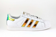 Adidas Superstar Bling White/Gold