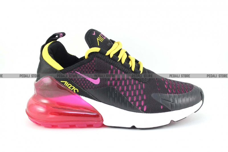 98a11e35 Кроссовки Nike Air Max 270 Black/Purple/Yellow купить в ...