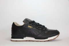 Puma RX 727 Black Leather
