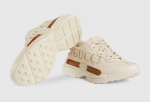 Gucci Rhyton Sneaker Logo Ivory Leather 2