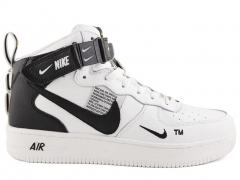 Nike Air Force 1 Mid '07 LV8 Utility White (натур. мех)