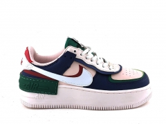 Nike Air Force 1 Shadow W Low Navy/White/Pink